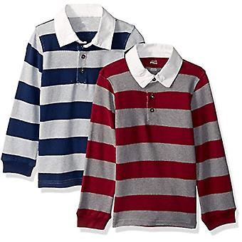 Simple Joys by Carter's Boys' Toddler 2-Pack Long-Sleeve Rugby Striped Shirts...