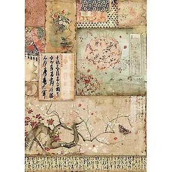 Рисовая бумага A4 Филиал и; Письма (DFSA4394)