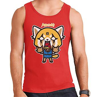 Aggretsuko Rage Men's Vest
