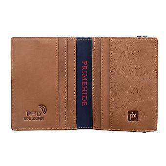 Primehide RFID Blocking Mens Leather Card Holder Wallet Notecase Gents 4811