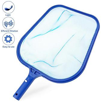 Blue Pool Cleaning Net Tool Salvage Net Mesh Pool Skimmer Leaf Catcher Bag