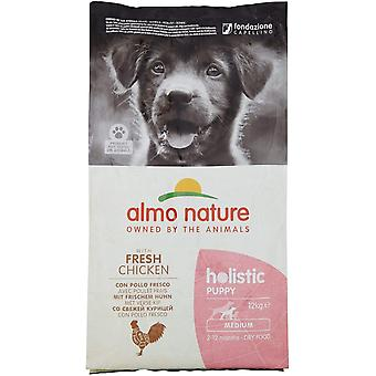 Almo Nature Holistic Maintenance Medium Puppy Dry Food Huhn - 12kg