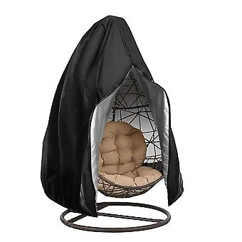 Waterproof Patio Chair Cover, Swing Dust Cover Protector With Zipper,
