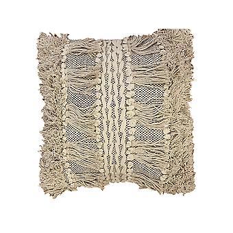 Spura Home Perinteinen Mukava Frills Style Beige Marokkolainen Tyynyt 18x18