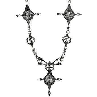 Restyle - vegvisir - necklace pendant silver