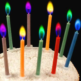Wedding Cake Candles Safe Flames Dessert Decoration, Birthday Party Supplies
