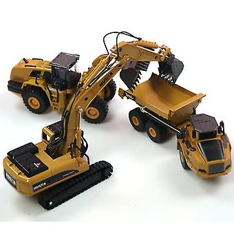 1:50 Dump Truck, Bagger Radlader, Diecast Metall Modell - Bau