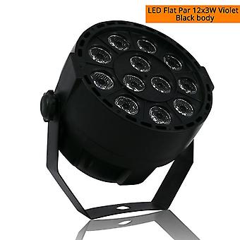 Led Flat Par 12x3w Rgbw Lighting Professional Led Stage Lights Effect Dmx512
