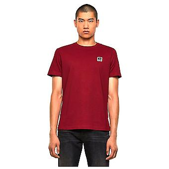 Diesel T-diegos K30 Small Logo Red T-shirt
