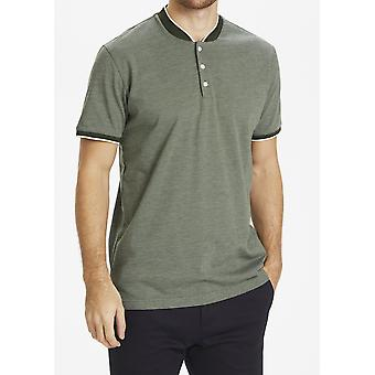 Marlon Collarless Polo Shirt