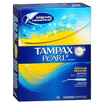 Tampax Perle Kunststoff Tampons Unscented, 18 jeder