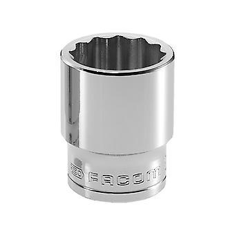Facom Bi-Hexagon Socket 1/2in Drive 18mm FCMS18