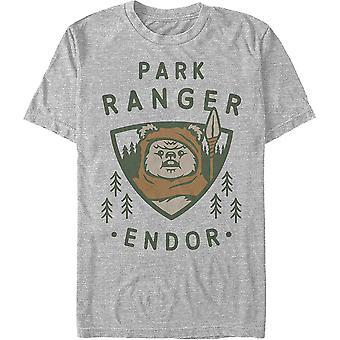 פארק ריינג'ר מלחמת הכוכבים חולצת טריקו