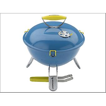 Landmann Piccolino BARBACOA + Tongs 36cm Azure Blue 31381