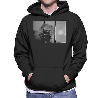 Psycho Terrorising Shower Sequence Men's Hooded Sweatshirt