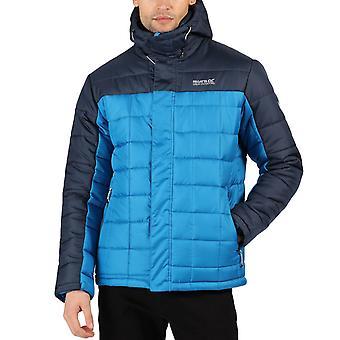 Регата Мужчины Невадо IV Изолированные Квилт с капюшоном Открытый Ходьба Куртка - Синий