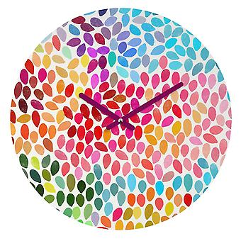 Artwork Painted Wall Clock