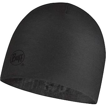 Buff Unisex Adults Reversible Microfiber Outdoor Warm Beanie Hat - Concrete Grey