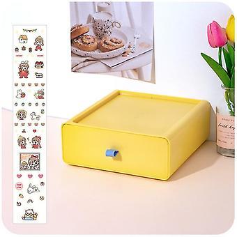 Desktop Drawer Storage Box, Desk Stationery Office Desk Increase Rack Storage