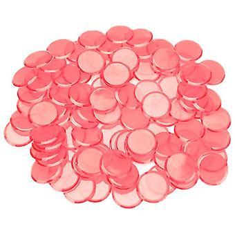 100パックピンクビンゴチップ
