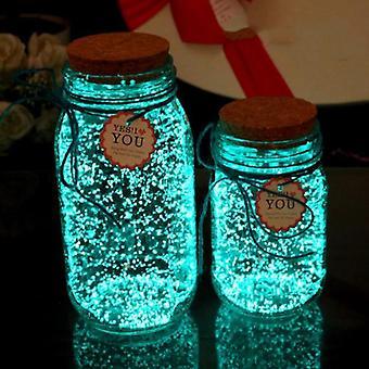 Светящаяся вечеринка, краска звезда желающих бутылку, яркое свечение в темноте