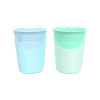 Twistshake Cup 170ml Pastel blue/green