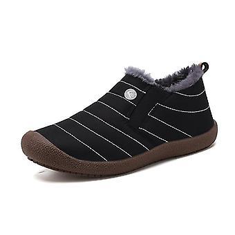 Winter Warm Ankle Shoes Men Waterproof Footwear Sneakers