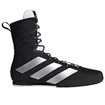 adidas Box Hog 3 Boxe Trainer Chaussures Boot Noir / Argent