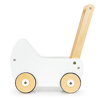 Houten poppenwagen ECOTOYS duwer walker
