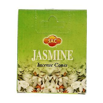 Jasmine Incense Cones 10 units
