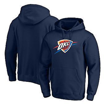 Oklahoma City Thunder Pullover Hoodie Swearshirt Tops 3WY498