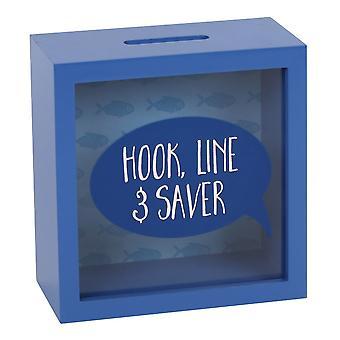 خط هوك والمال المدخر حزمة صندوق من 4