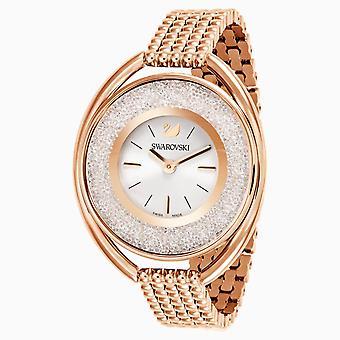 Swarovski 5200341 kristallin ros guld ton armband dam klocka