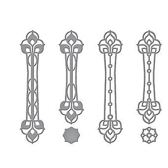 Spellbinders Kaleidoscope Cross Etched Dies