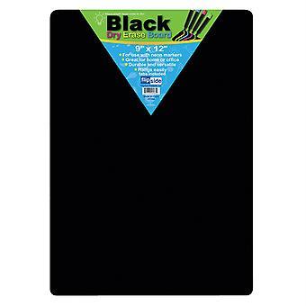 "Black Dry Erase Boards, 9"" X 12"""