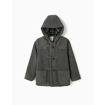 Zippy Wool Duffle Coat