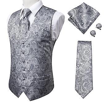 100 % Seide Kleid Männer's Anzug Weste männliche Weste für Hochzeit formale Jacke