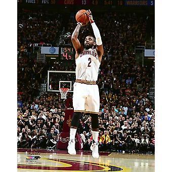 2016 NBA 決勝写真印刷のキリエ アーヴィング ゲーム 6