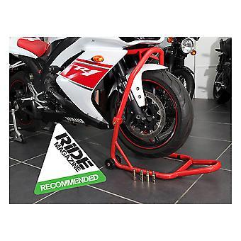 Soporte BikeTek Series 3 Front Headlift Track Paddock - Rojo
