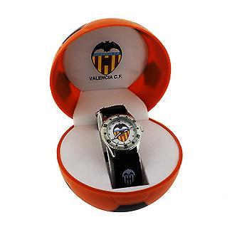 Valencia FC Childrens/Kids  Official Football Crest Wrist Watch