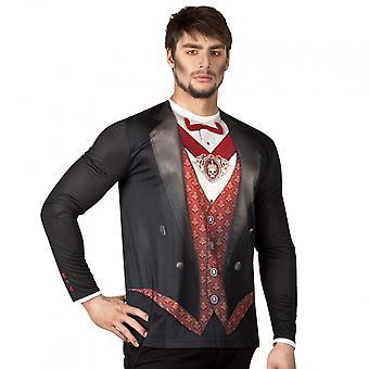 Shirt Vampire Men Polyester Bt425016