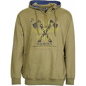 Replika Jeans Tall Fit Forge Workers Hoody