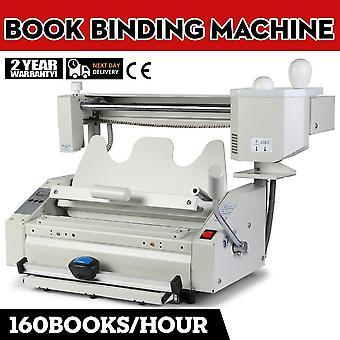 Ny Smelte Lim Book Binder Machine Wireless Kan Cap Bindende Hastighed