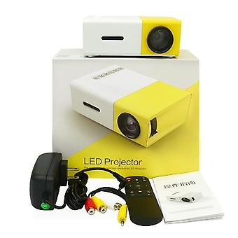 Yg300 Portable Home Mini Projector With Remote Control/ Cell Phone Full Hd
