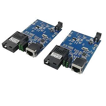 Media Converter Fiber Optical To Fiber To Ethernet Switch Fiber Pcba