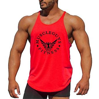 Workout Clothing Fitness Top Gym Tank Bodybuilding Vest Muscle Shirt