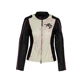 Harley-Davidson Women's Jacket  Pink Label Color blocked - Leather - Model 97010-14VW