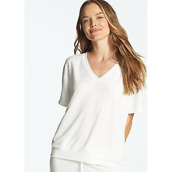 Baby french terry v-neck drop shoulder tee