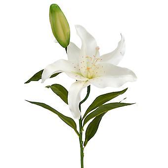 Crema artificiale Lily Branch Deluxe da 55 cm