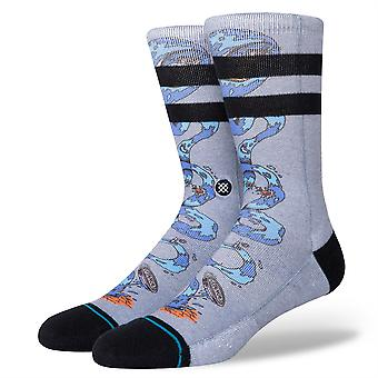 Stance Men's Socks ~ Party Wave gris
